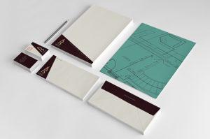 Sara Barats freelance web designer stationery set