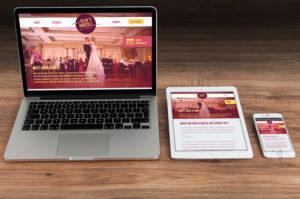 Sara Barats freelance web designer Wedding DJ website