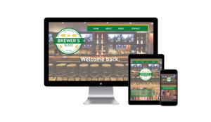 Sara Barats freelance web designer Brewer's website